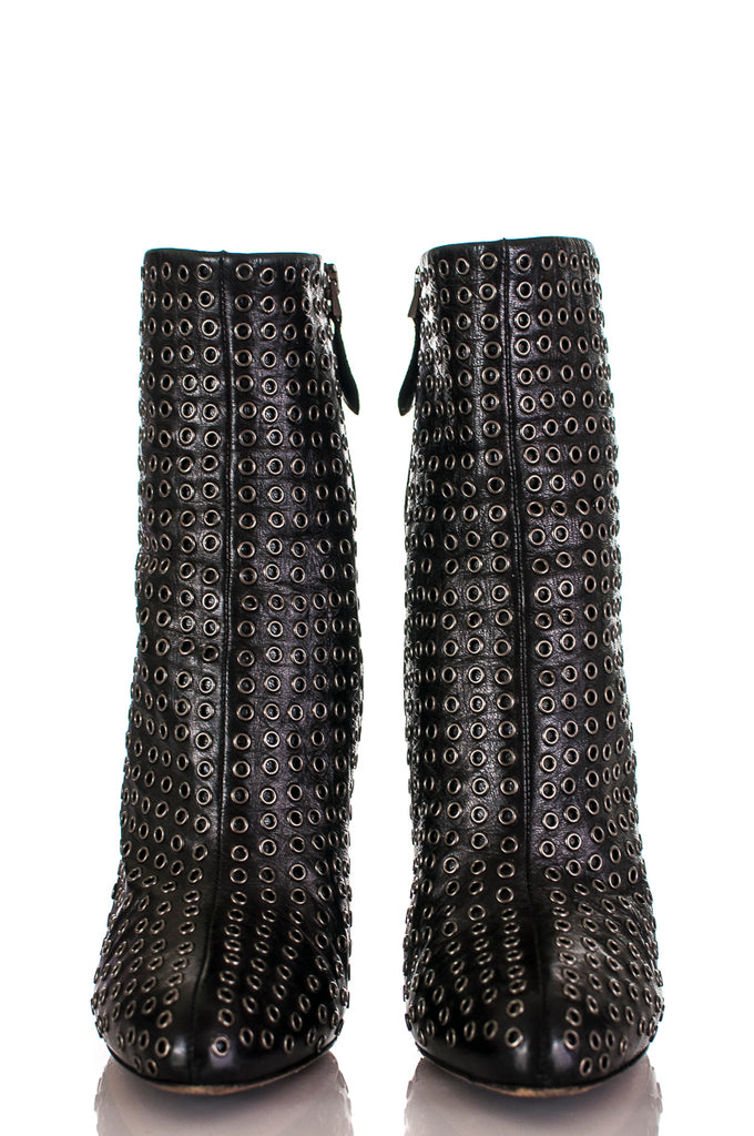 Alaia grommet ankle boots Size 9 | EU 39 [20% OFF] - OWN THE COUTURE