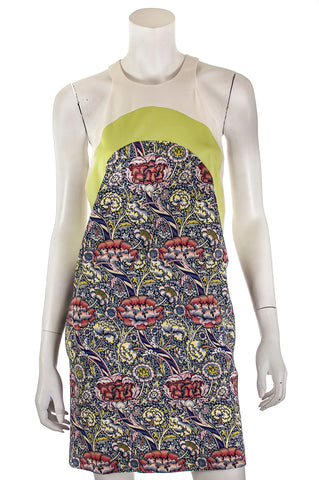 Carven white cotton pique sleeveless dress New w/ tags Size S | FR 38