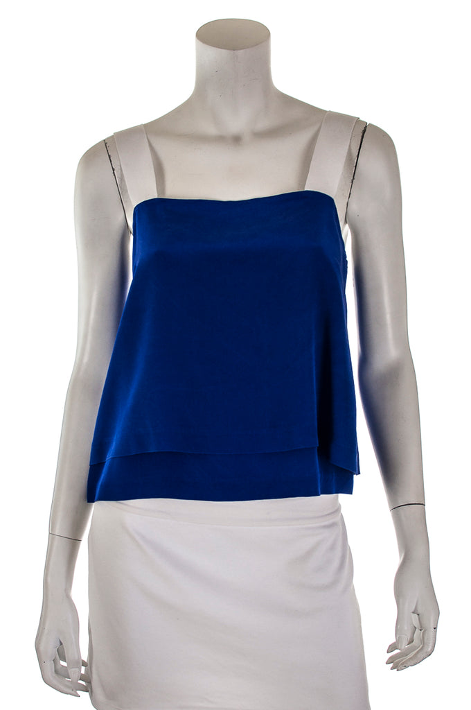 Sandro silk square neck top Size S | FR 2 [20% OFF] - OWN THE COUTURE