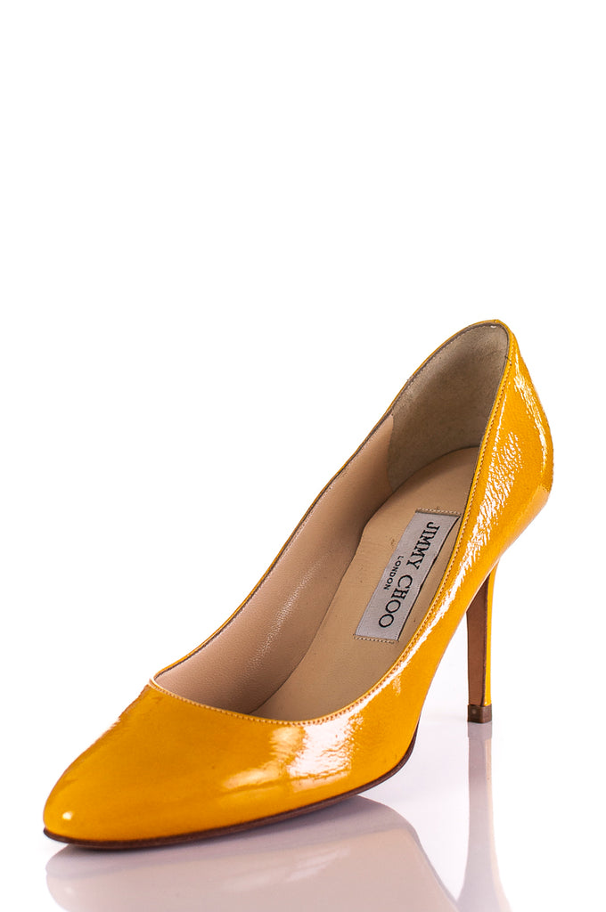 aff9c00000c56 ... Jimmy Choo patent leather pumps Size 7.5  20% OFF  - OWN THE COUTURE ...