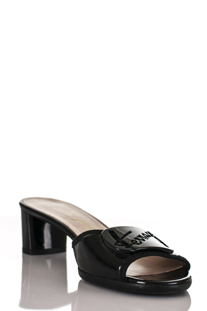 Salvatore Ferragamo patent leather slide sandals Size 9 [20% OFF] - OWN THE COUTURE