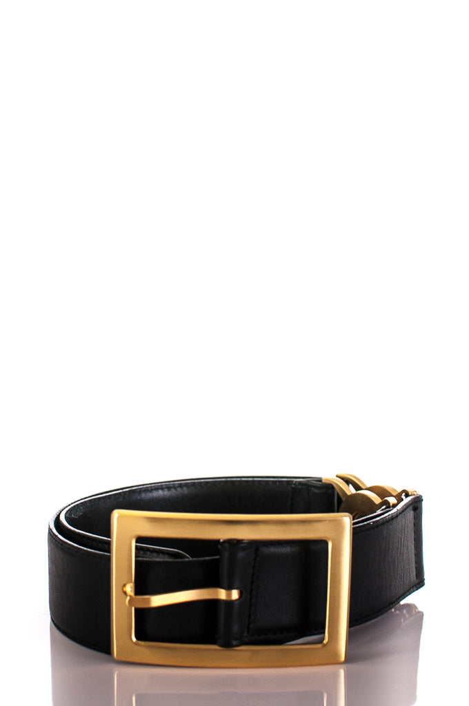 Gianni Versace leather Medusa belt Size XS [20% OFF] - OWN THE COUTURE