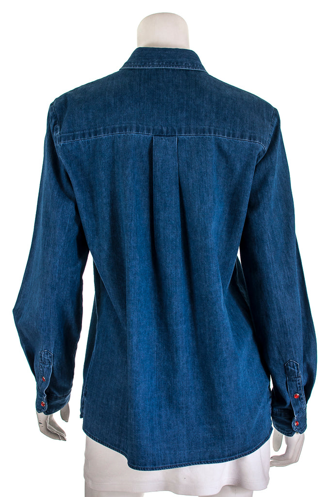 Maje denim shirt New w/ tags Size L | EU 3 [20% OFF] - OWN THE COUTURE