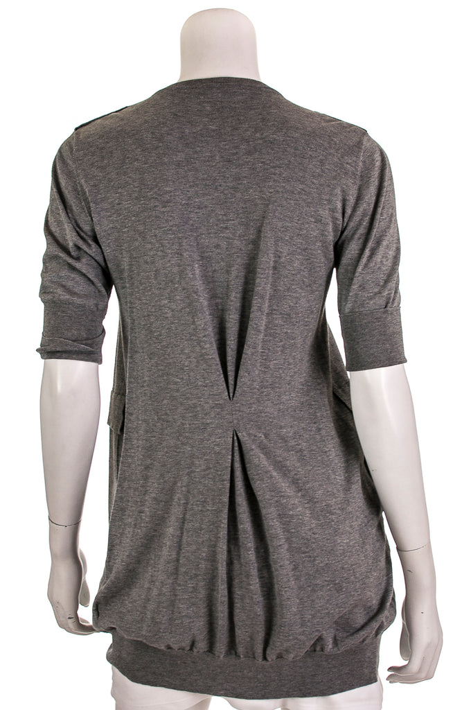 Brunello Cucinelli cotton knit short sleeve cardigan Size M [50% OFF] - OWN THE COUTURE
