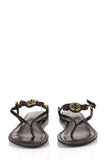 Tory Burch leather thong sandals Size 9.5 - OWN THE COUTURE  - 3