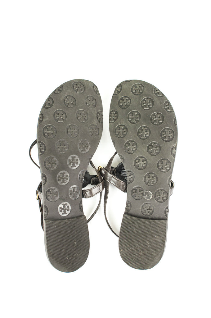 Tory Burch leather thong sandals Size 9.5 - OWN THE COUTURE