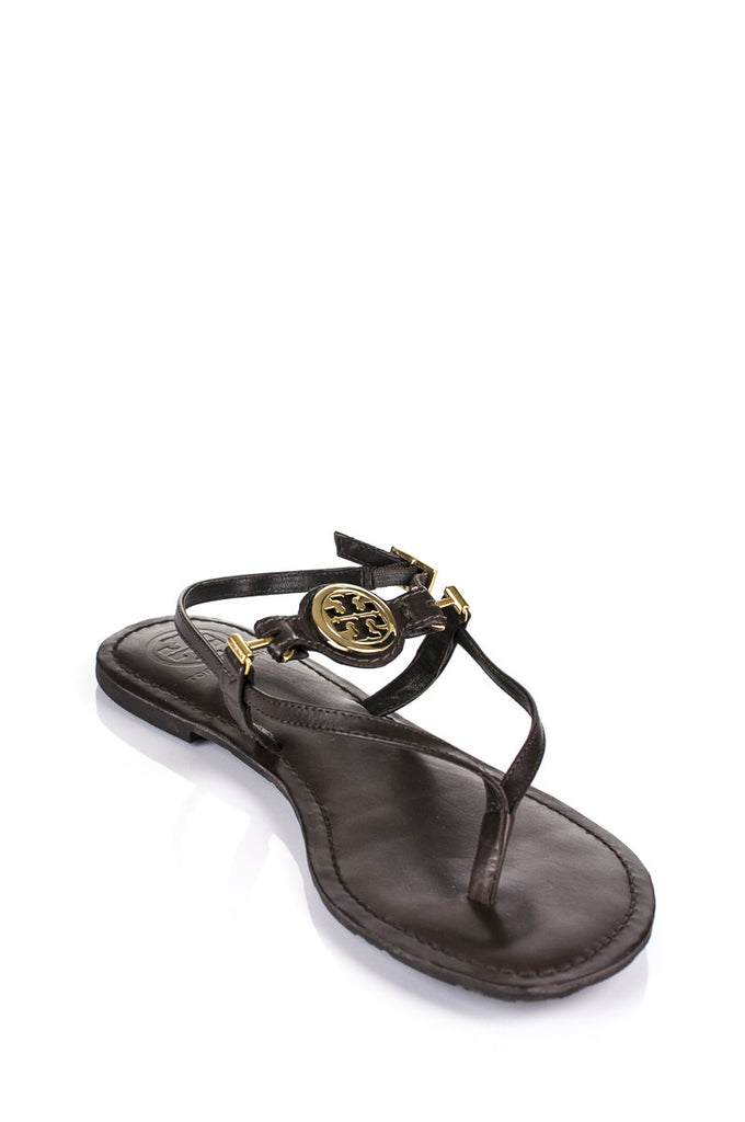 Tory Burch leather thong sandals Size 9.5 - OWN THE COUTURE  - 2