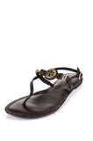 Tory Burch leather thong sandals Size 9.5 - OWN THE COUTURE  - 1