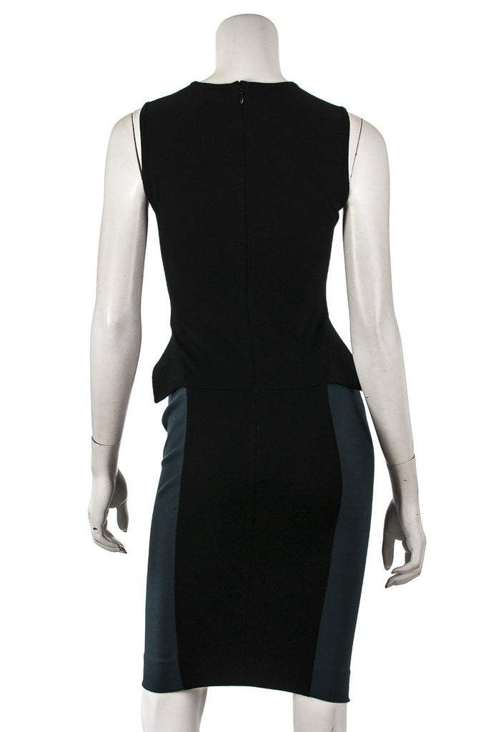 Stella McCartney two-tone peplum shift dress Size XXS | IT 38  [20% OFF] - OWN THE COUTURE