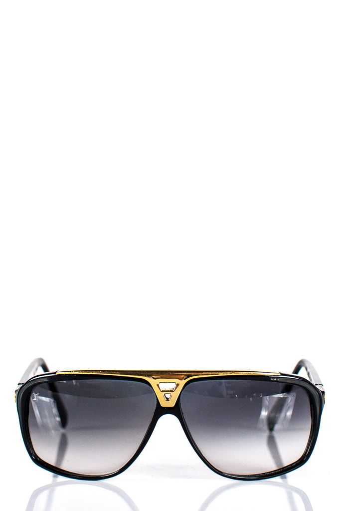 bbe6d623eb2 ... Louis Vuitton Evidence aviator sunglasses - OWN THE COUTURE ...