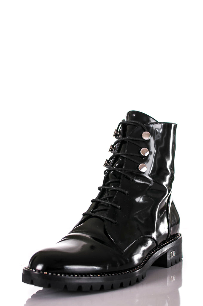 Christian Dior Patent Leather Rebelle Boots outlet wholesale price free shipping get authentic cheap price 5FqIBi