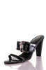 Tod's patent leather high heel slide sandals Size 10 - OWN THE COUTURE
