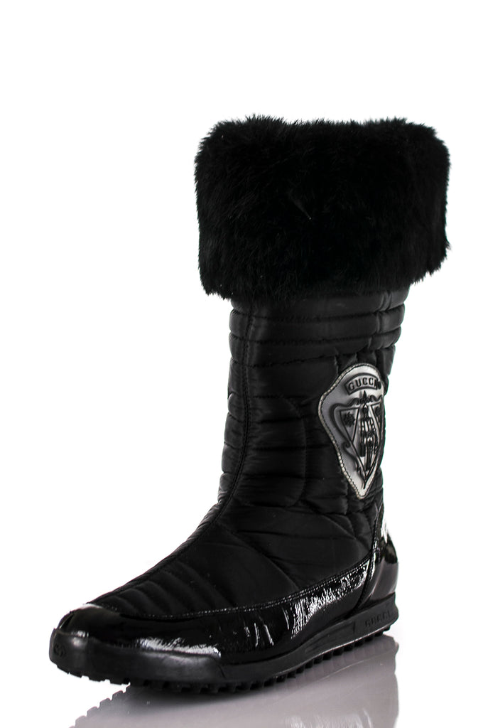 b22295c5c94 ... Gucci Hysteria fur embellished boots Size 9 - OWN THE COUTURE ...