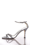 Manolo Blahnik metallic print and crystal Arfiusan Casba sandals New Size 10 [40% OFF] - OWN THE COUTURE