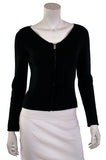 Gucci wool cashmere blend zip cardigan Size M - OWN THE COUTURE