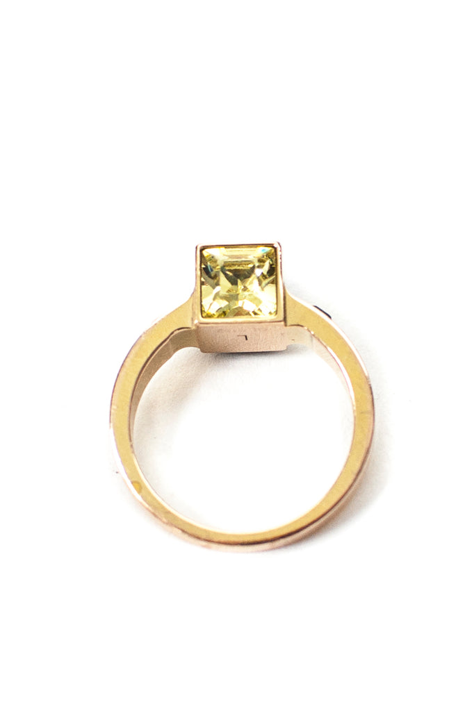 Louis Vuitton crystal embellished cube Gamble ring Size 7.75  [20% OFF] - OWN THE COUTURE