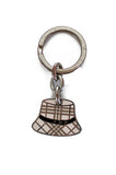 Burberry hat charm key chain - OWN THE COUTURE