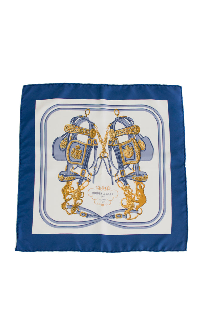 Hermès Brides de gala silk neck scarf - OWN THE COUTURE