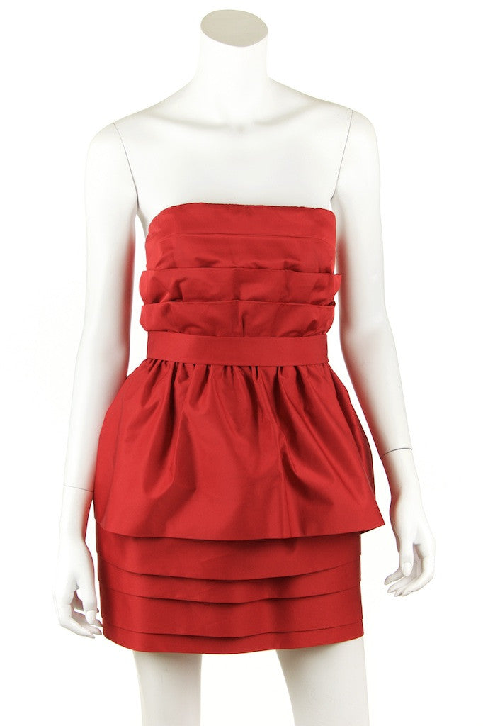 Acne strapless dress Size XS | FR 36 - OWN THE COUTURE