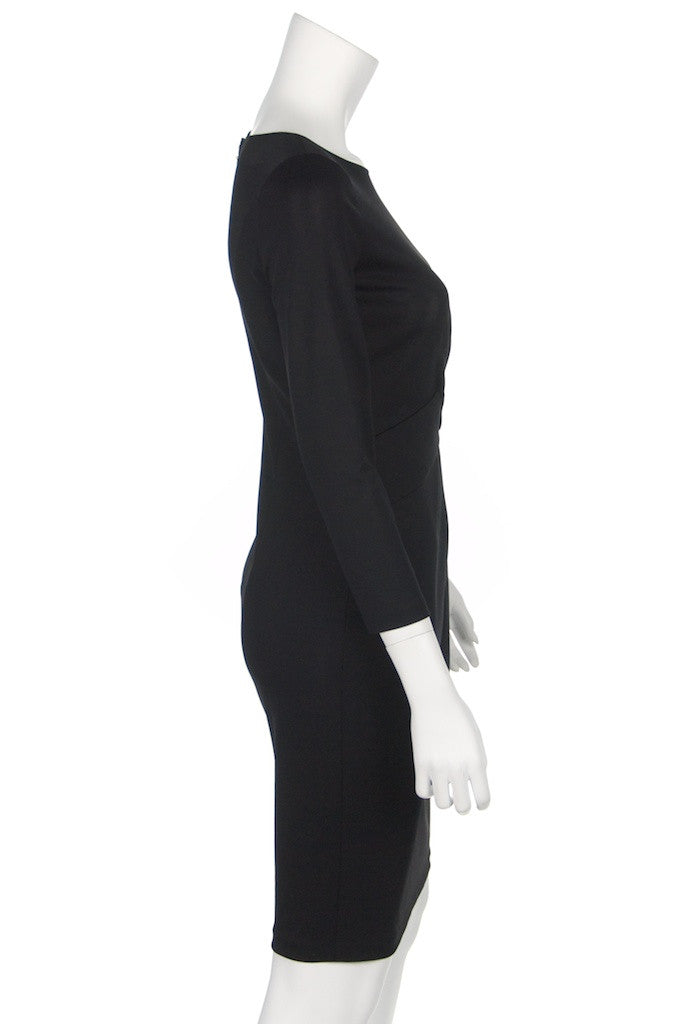 Armani Collezioni long sleeve jersey dress with tags Size XXS | IT 38 - OWN THE COUTURE