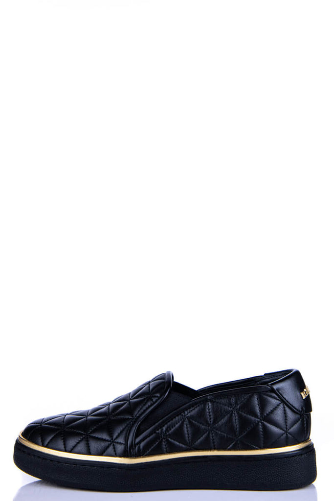 Balmain Black Quilted Sneakers New Size 5 | IT 35 - OWN THE COUTURE
