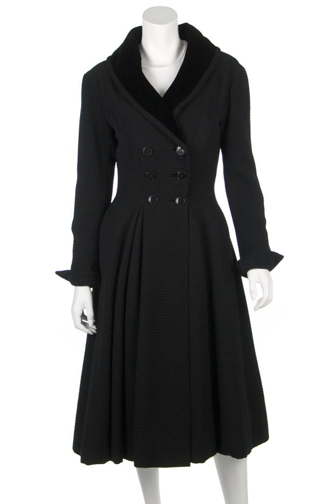 Bergdorf Goodman long vintage coat Size M - OWN THE COUTURE  - 1
