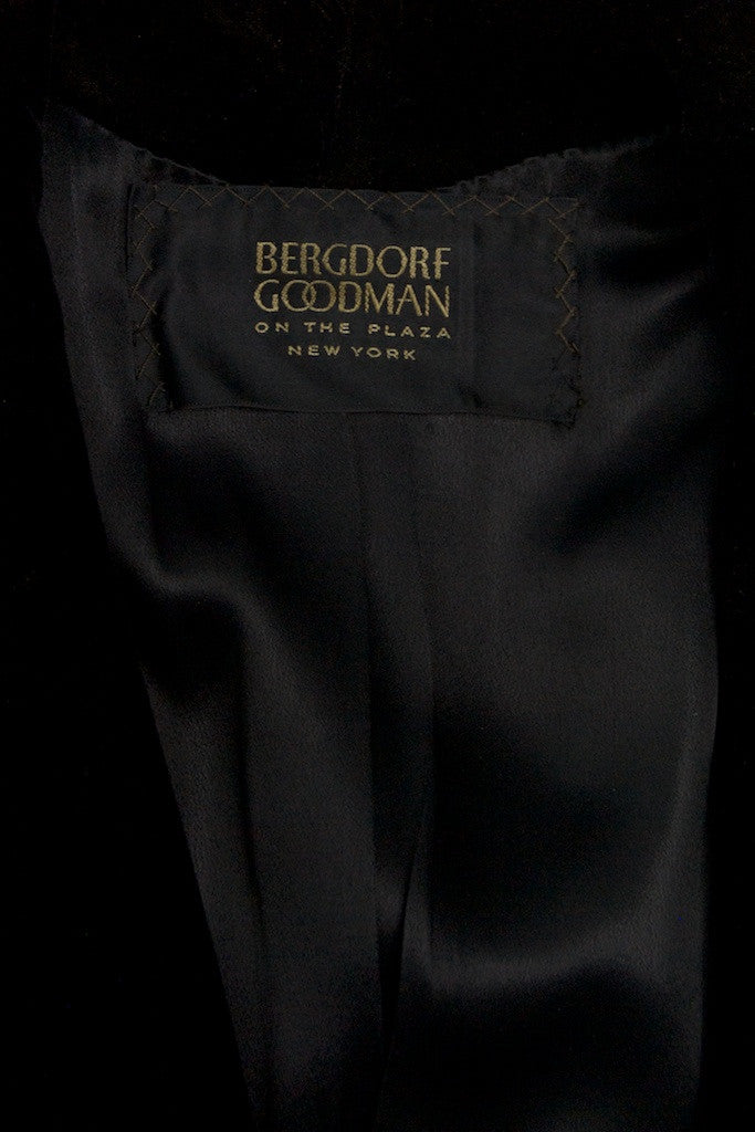 Bergdorf Goodman long vintage coat Size M - OWN THE COUTURE  - 5