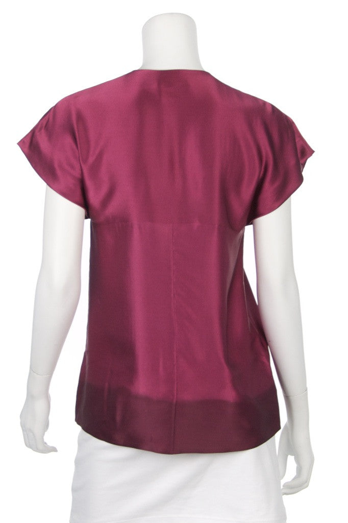 BOSS Hugo Boss silk ombré top with tags Size S | DE 36  [20% OFF] - OWN THE COUTURE