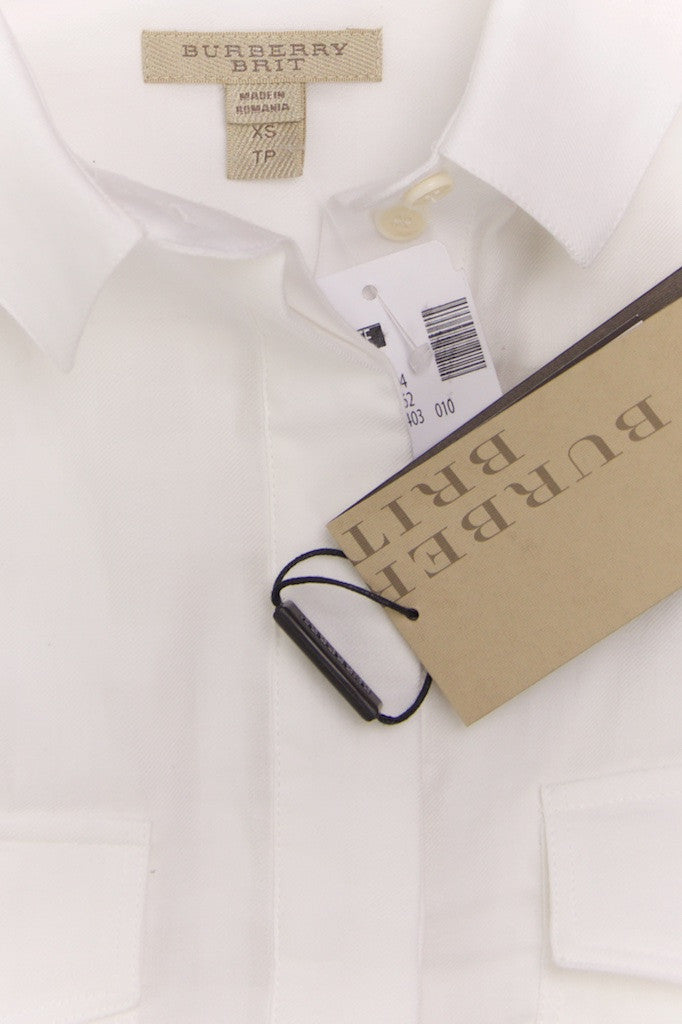 Burberry Brit tone on tone nova check shirt New with tags Size XS Petite  [20% OFF] - OWN THE COUTURE  - 5