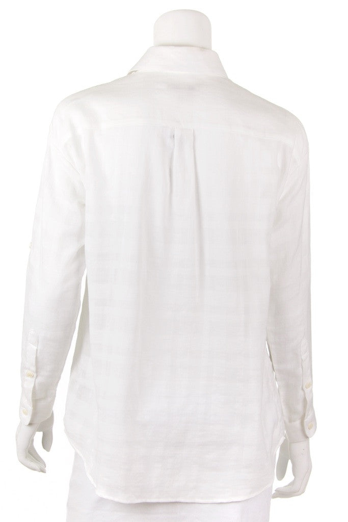 Burberry Brit tone on tone nova check shirt New with tags Size XS Petite  [20% OFF] - OWN THE COUTURE  - 3