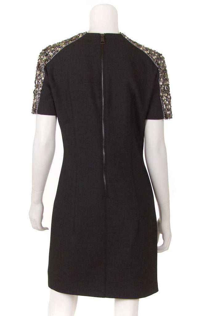 Burberry London crystal shoulder dress Size M | UK 10 - OWN THE COUTURE  - 3