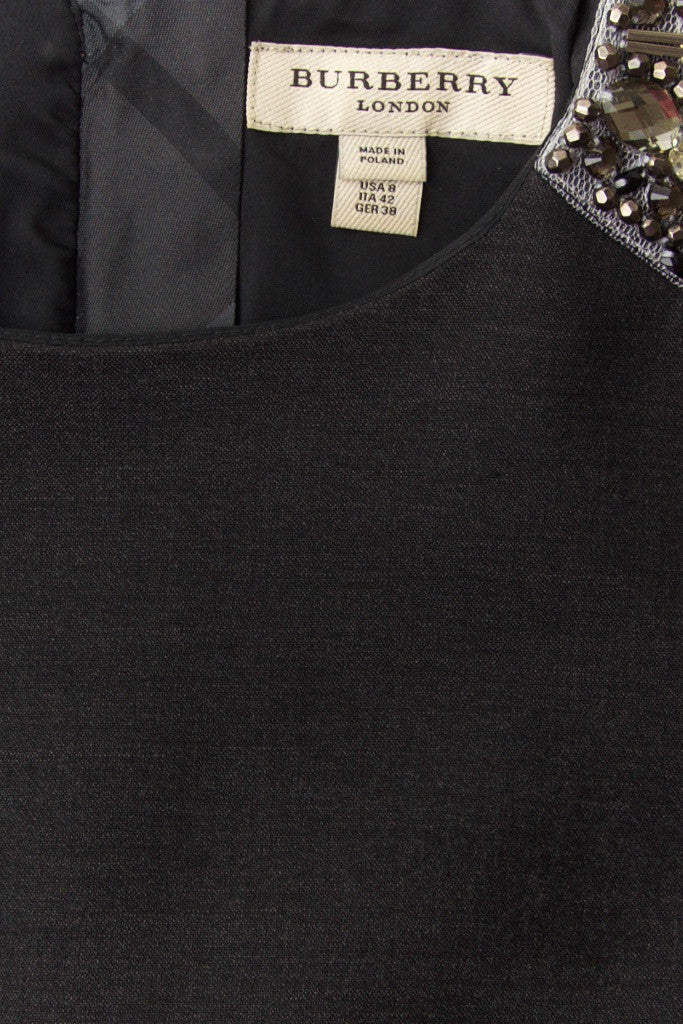 Burberry London crystal shoulder dress Size M | UK 10 - OWN THE COUTURE  - 5