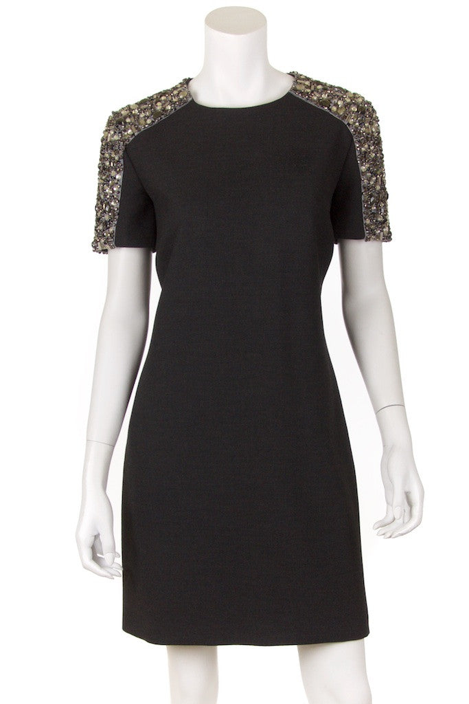 Burberry London crystal shoulder dress Size M | UK 10 - OWN THE COUTURE  - 1