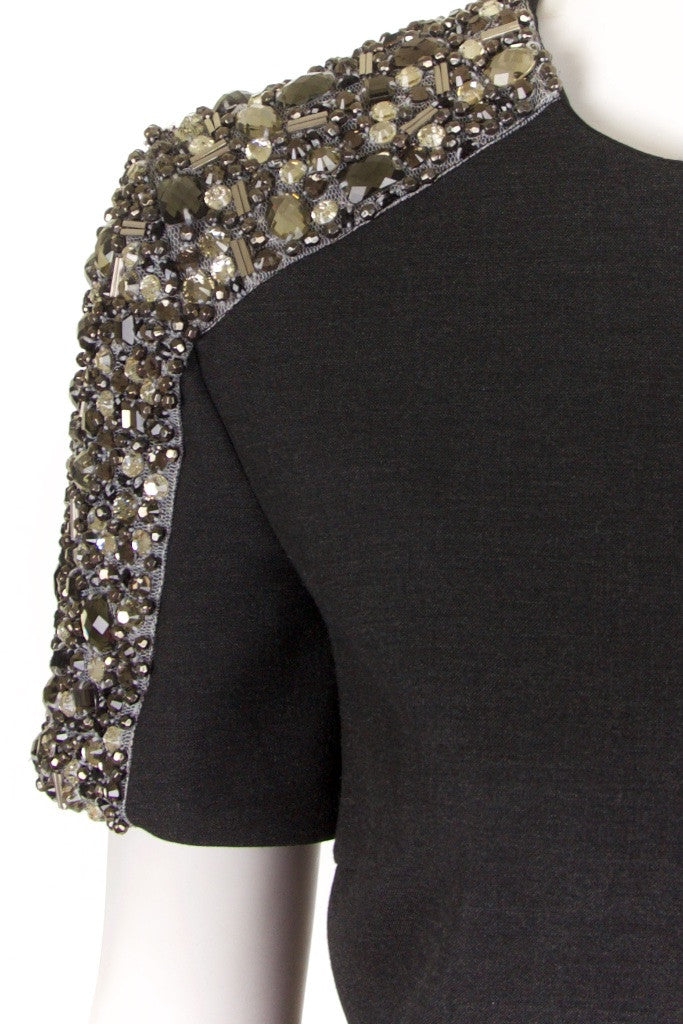 Burberry London crystal shoulder dress Size M | UK 10 - OWN THE COUTURE  - 4
