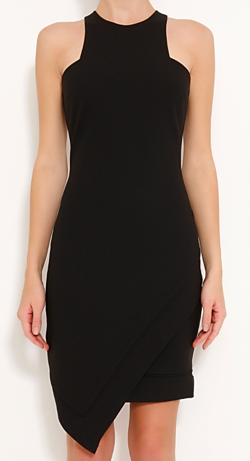 Elizabeth and James New Claire asymmetrical sleeveless dress Size XXS | US 00 - OWN THE COUTURE