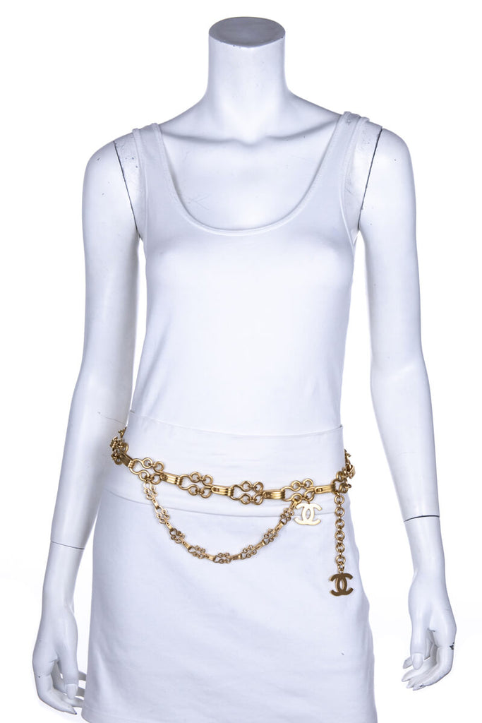 Chanel Gold Chain Link Fall 2003 Belt - OWN THE COUTURE