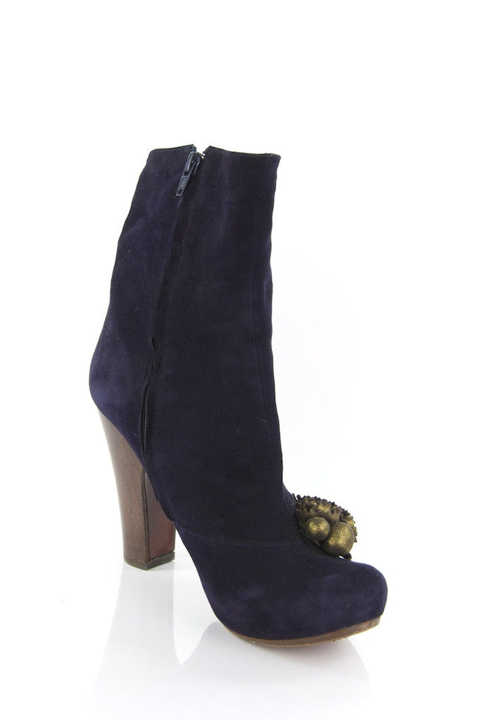 Chie Mihara high heel suede booties shoe size 11  [25% OFF] - OWN THE COUTURE
