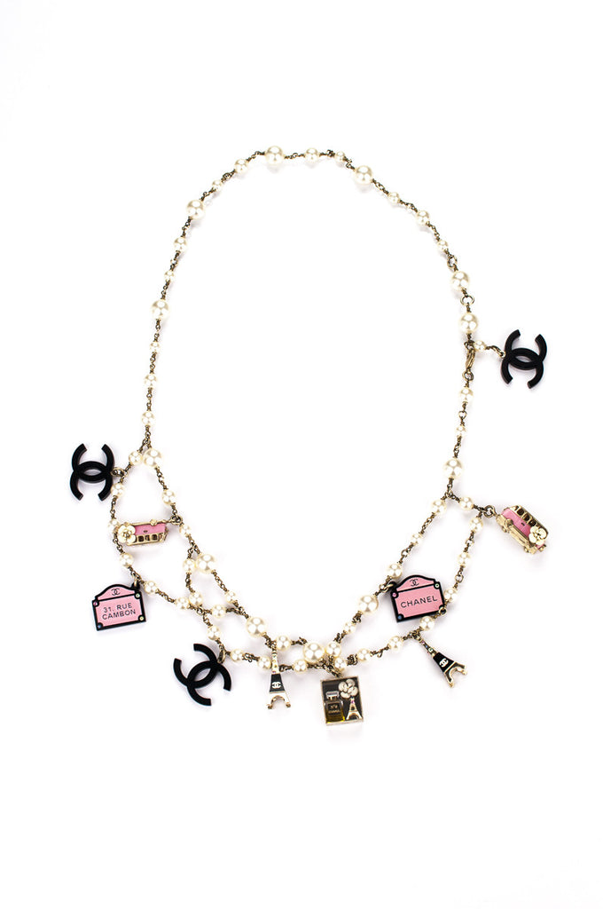 8ecfb22e8 Chanel Paris Souvenirs charm necklace | OWN THE COUTURE | Canada's ...