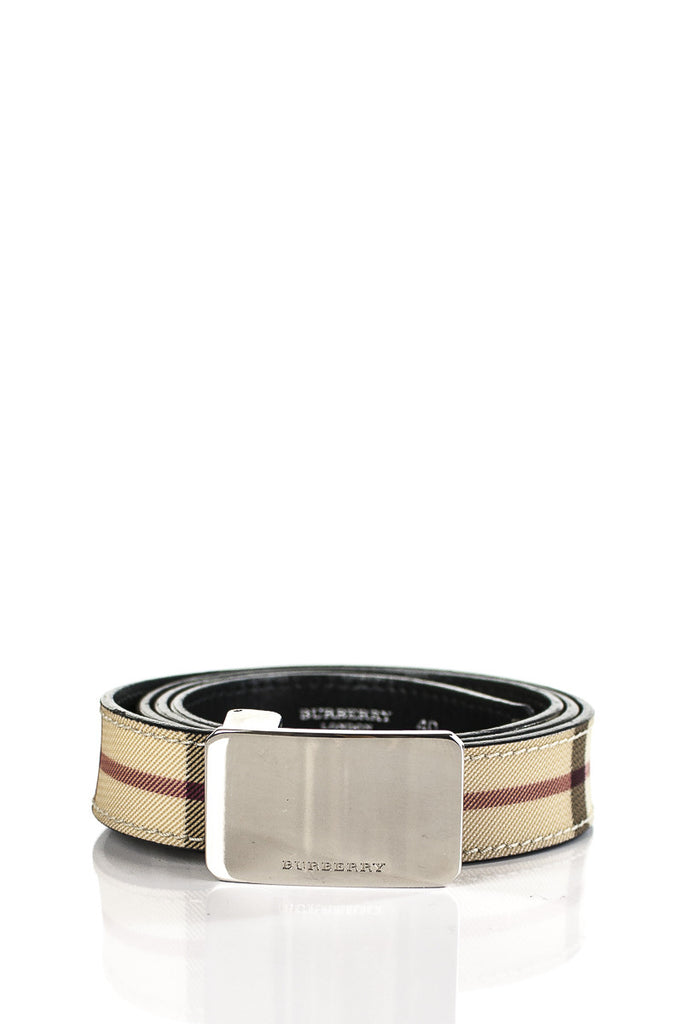 Burberry nova check belt - M - OWN THE COUTURE