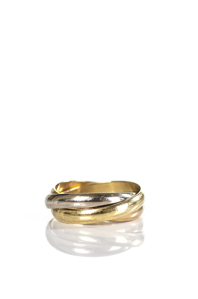 Cartier Trinity gold ring Size 6.5 - OWN THE COUTURE  - 2