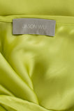 Jason Wu neon ruffled-back silk skirt Size XL | US 12 - OWN THE COUTURE  - 5
