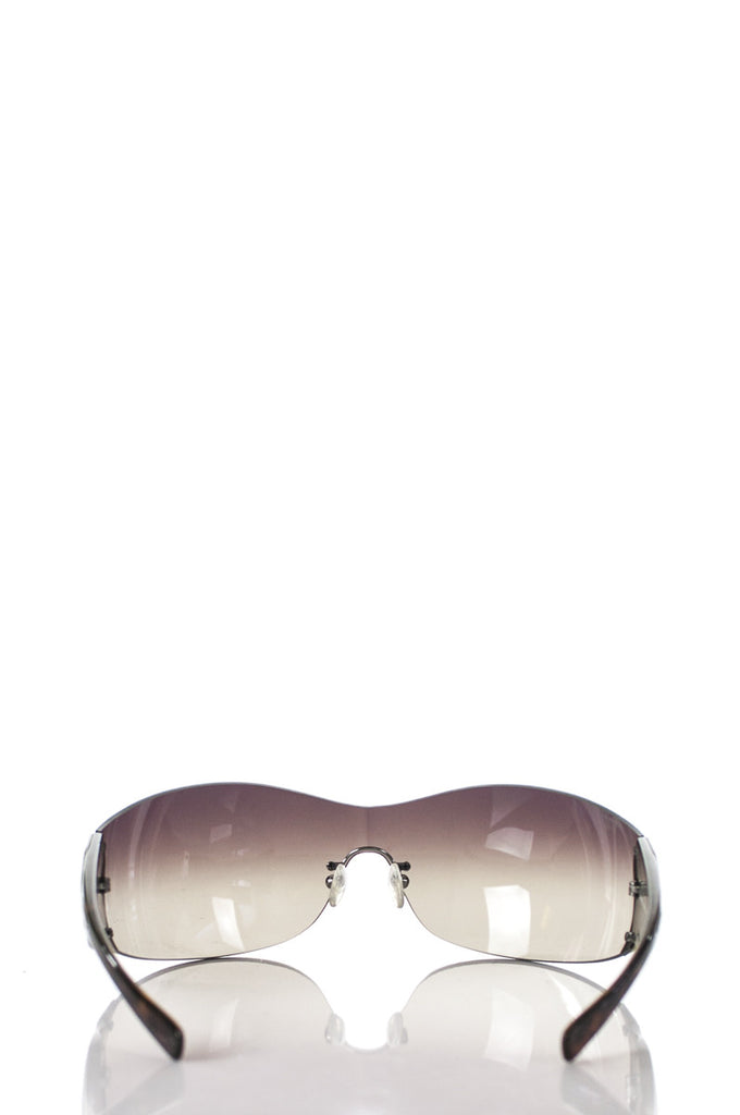 Prada shield sunglasses - OWN THE COUTURE
