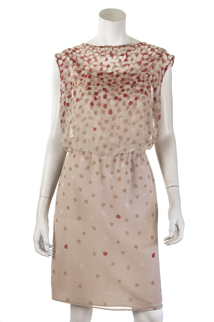 Armani Collezioni floral print chiffon dress Size L | US 12 - OWN THE COUTURE