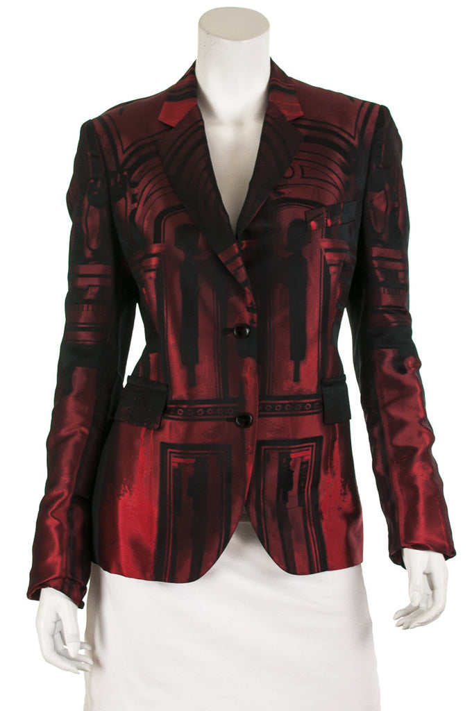 Paul Smith Chandelier jacquard blazer Size L | IT 46 - OWN THE COUTURE  - 1