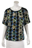 M Missoni floral print short sleeve top Size L - OWN THE COUTURE