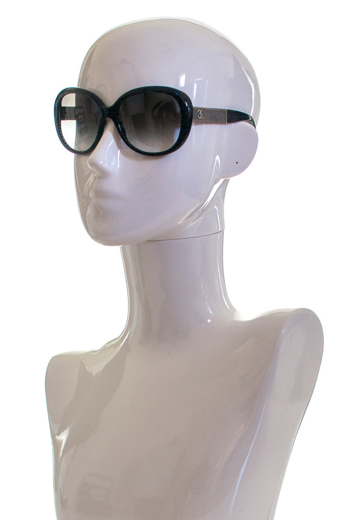Chanel oversized polarized sunglasses - OWN THE COUTURE