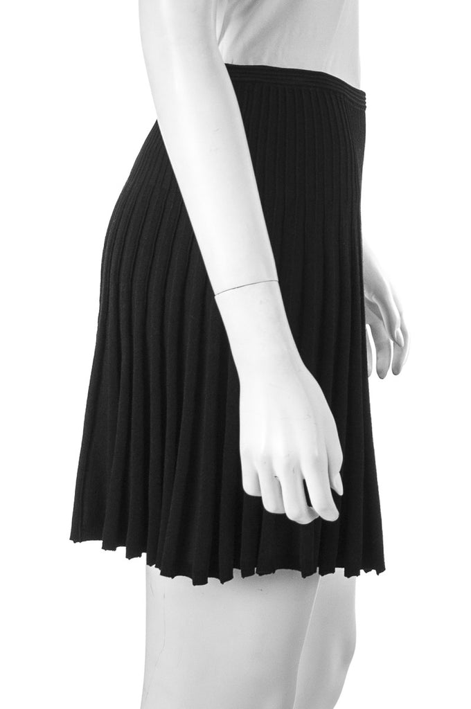 Diane von Furstenberg Mara stretch ponte pleated mini skirt Size XS - OWN THE COUTURE  - 2