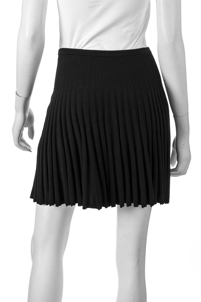 Diane von Furstenberg Mara stretch ponte pleated mini skirt Size XS - OWN THE COUTURE  - 3