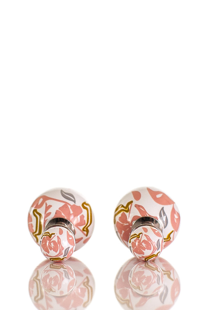 Dior abstract Mise en Dior Tribales stud earrings - OWN THE COUTURE