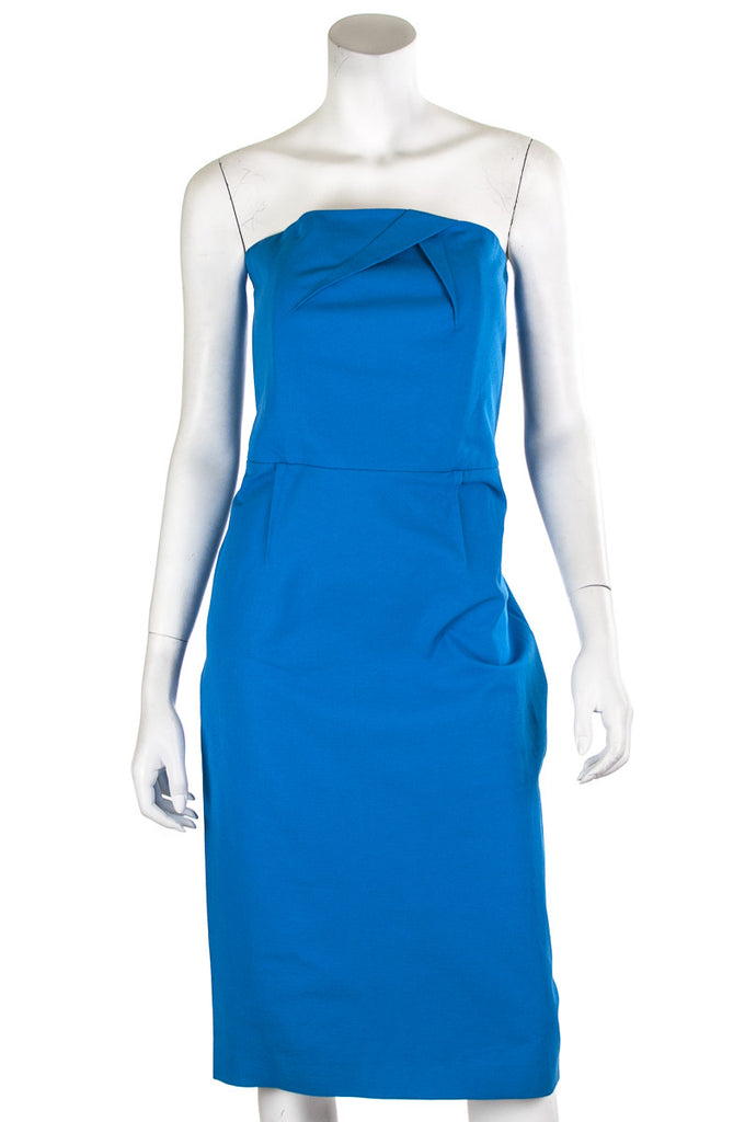 Roland Mouret Electra strapless dress Size XL | FR 44 - OWN THE COUTURE  - 1